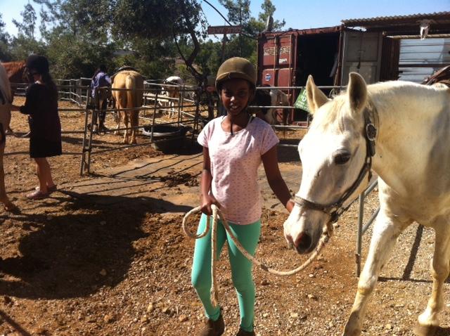 CBN Israel, horse riding