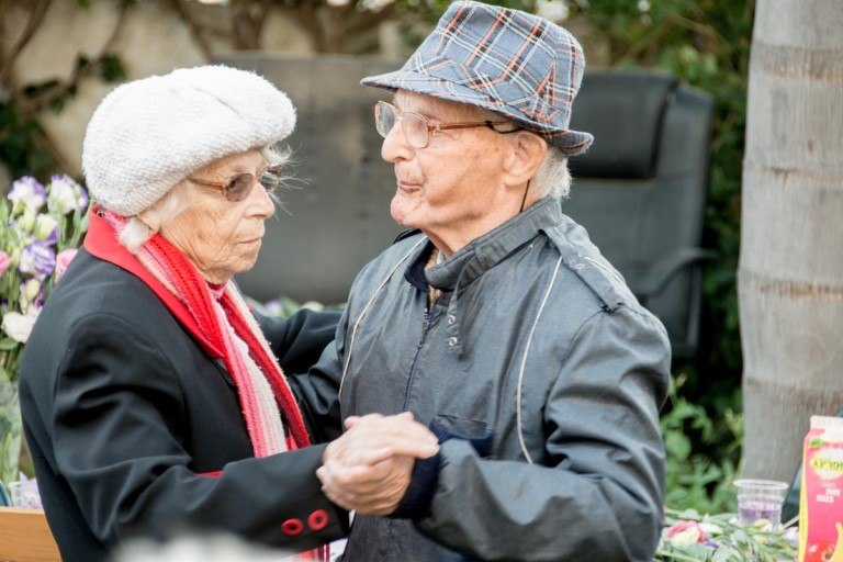 caring for Holocaust survivors