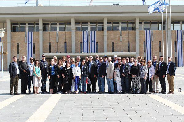 Israel business forum in Jerusalem, The israeli Parliament