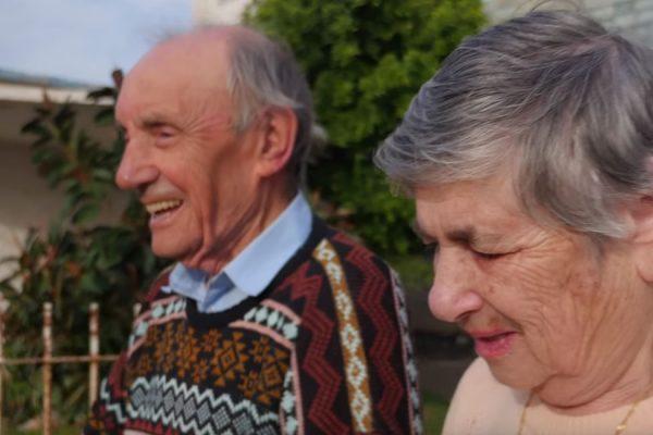 CBN Israel, helping holocaust survivor Michael and Vera